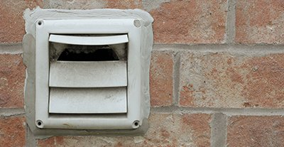 how to clean stove vent